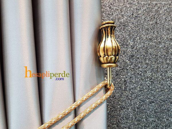 altın gold vase braçol renso perde toplama