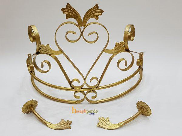 duvar cibinlik demiri altın