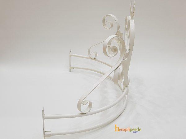 duvara monte cibinlik demiri beyaz