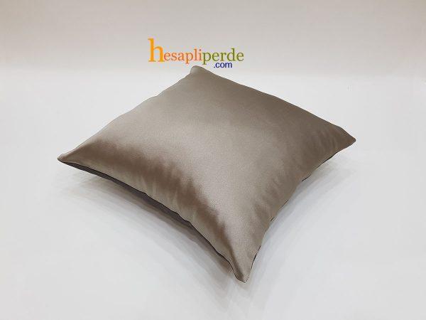 iki renk kırlent fermuarlı yastık