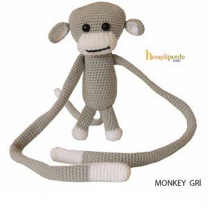 monkey braçol gri