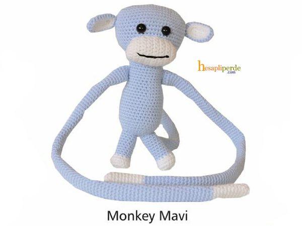 monkey braçol mavi