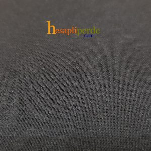 siyah stor perde düz renk siyah kumaş