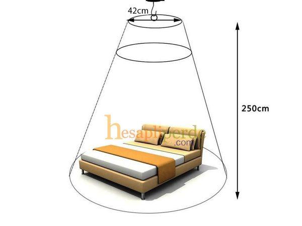 yatak cibinlik tül model