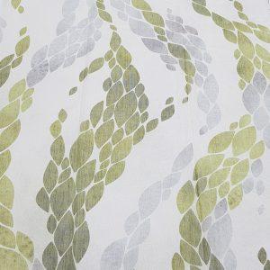 yeşil baskılı tül oxford