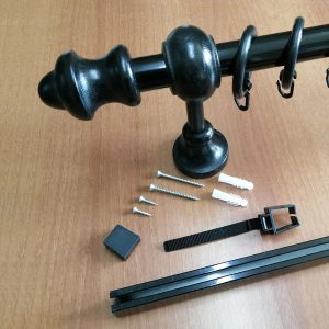 rustik ahsap perde askisi borusu rayi rayli veya raysiz hesapliperde