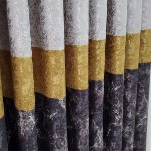 brillant fon perde gri antrasit sari gold altin kenarperde kalinperde hesapli