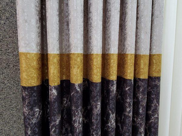 brillant perde fonperde gri antrasit gold sari