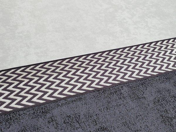 hesapliperde gri antrasit soft bordur fon perde