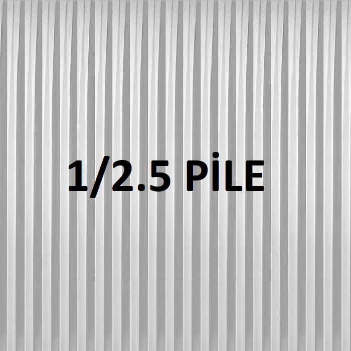 1/2.5 Pile